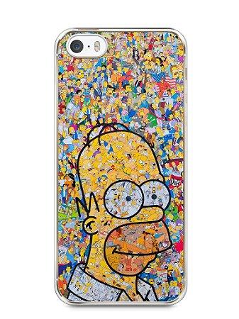 Capa Iphone 5/S Homer Simpson Comic Books