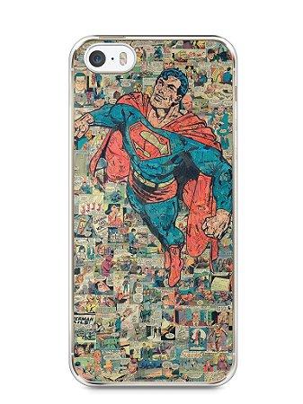 Capa Iphone 5/S Super Homem Comic Books