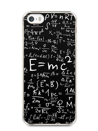 Capa Iphone 5/S Teoria da Relatividade Einstein