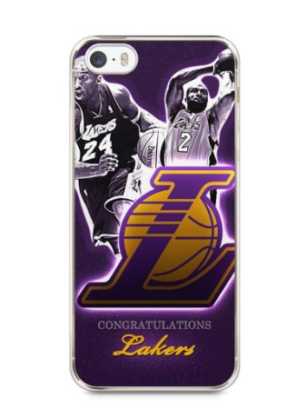 Capa Iphone 5/S Lakers