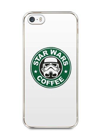 Capa Iphone 5/S Star Wars Coffee