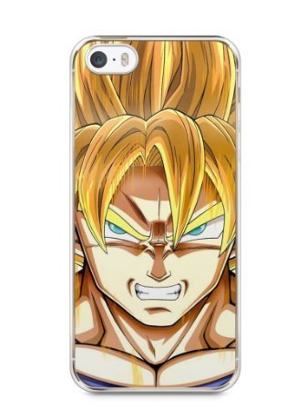 Capa Iphone 5/S Dragon Ball Z Gohan SSJ2