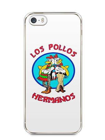 Capa Iphone 5/S Breaking Bad Los Pollos Hermanos #1