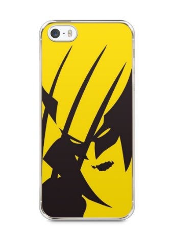 Capa Iphone 5/S Wolverine