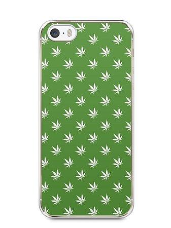 Capa Iphone 5/S Maconha #2