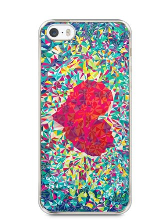 Capa Iphone 5/S Coração Pintura