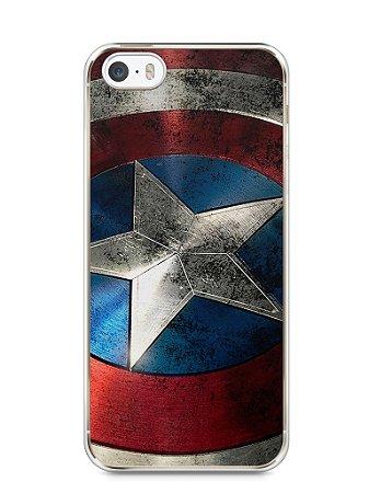 Capa Iphone 5/S Escudo Capitão América
