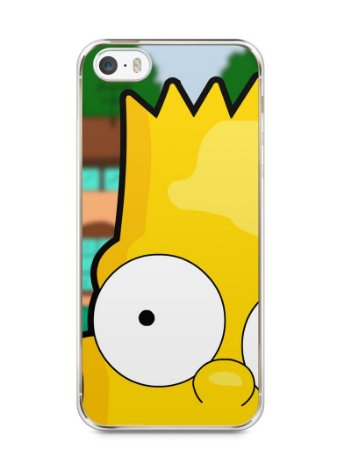 Capa Iphone 5/S Bart Simpson Face