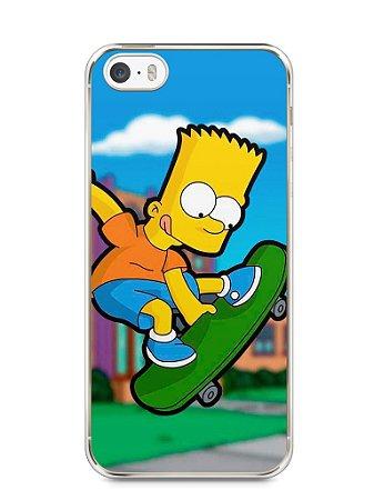 Capa Iphone 5/S Bart Simpson Skate