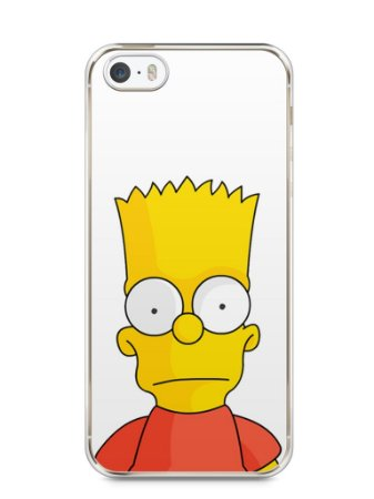 Capa Iphone 5/S Bart Simpson