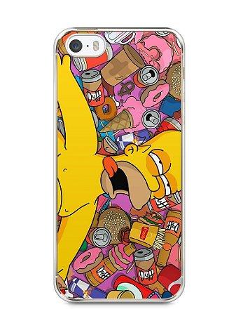 Capa Iphone 5/S Homer Simpson Bêbado
