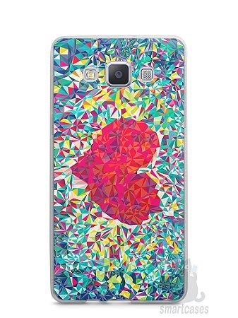 Capa Samsung A5 Coração Pintura