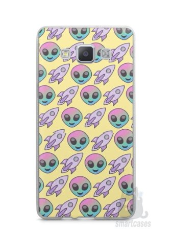 Capa Samsung A5 Aliens e Foguetes