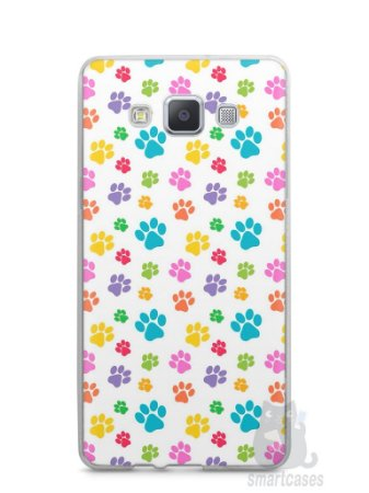Capa Samsung A5 Patinhas Coloridas #1