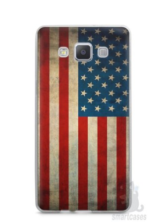 Capa Samsung A5 Bandeira EUA