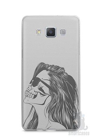 Capa Samsung A5 Mulher Caveira