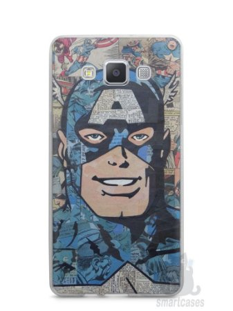Capa Samsung A5 Capitão América Comic Books #2
