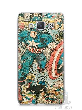 Capa Samsung A5 Capitão América Comic Books #1
