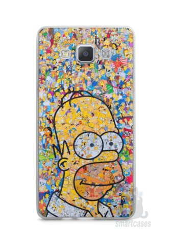 Capa Samsung A5 Homer Simpson Comic Books