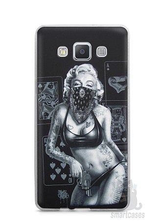 Capa Samsung A5 Marilyn Monroe #3