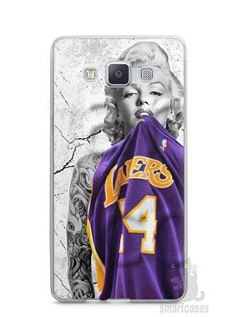 Capa Samsung A5 Marilyn Monroe Lakers