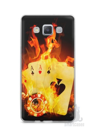 Capa Samsung A5 Poker #1