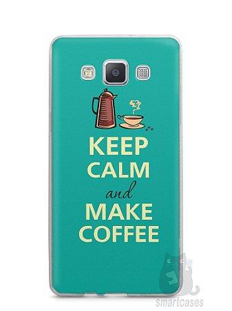 Capa Samsung A5 Keep Calm and Make Coffee
