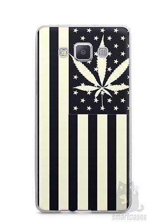 Capa Samsung A5 Maconha Bandeira EUA