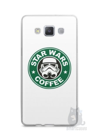 Capa Samsung A5 Star Wars Coffee