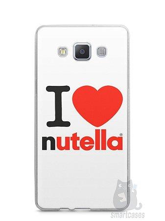 Capa Samsung A5 I Love Nutella
