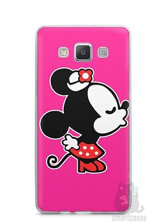 Capa Samsung A5 Mickey e Minnie Beijo