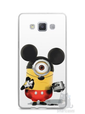 Capa Samsung A5 Minions Mickey Mouse
