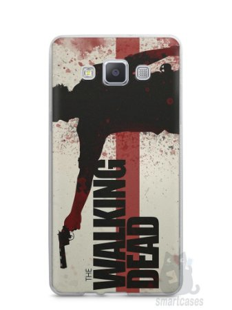 Capa Samsung A5 The Walking Dead #1