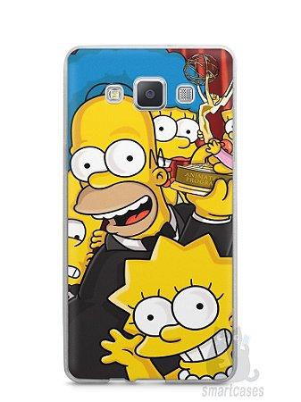Capa Samsung A5 Família Simpsons #2