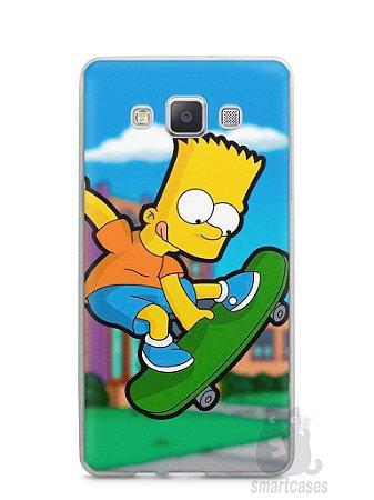 Capa Samsung A5 Bart Simpson Skate