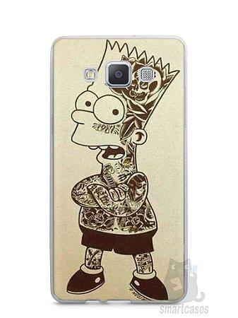 Capa Samsung A5 Bart Simpson Tatuado