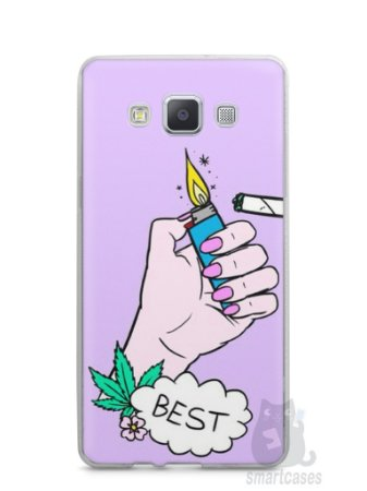 Capa Samsung A5 Melhores Amigos Fumando