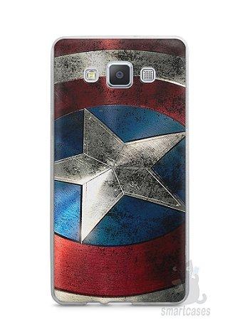 Capa Samsung A5 Escudo Capitão América