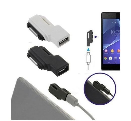 Adaptador Carregador Magnético Sony Xperia Z1 Z2 Z3 Z3 Compact