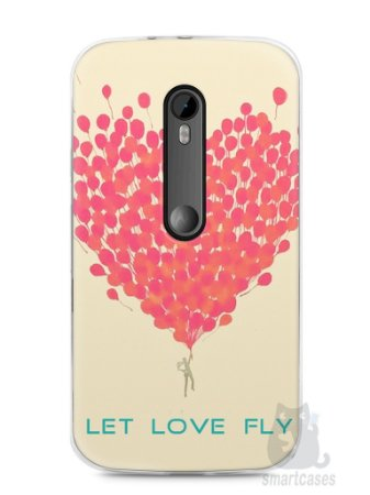 Capa Moto G3 Deixe o Amor Voar