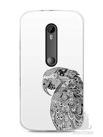 Capa Moto G3 Arara Artística