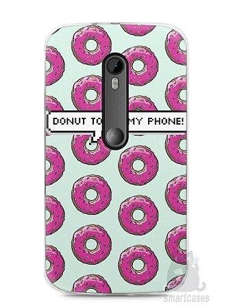 Capa Moto G3 Donut Touch My Phone