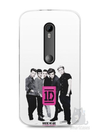 Capa Moto G3 One Direction #2