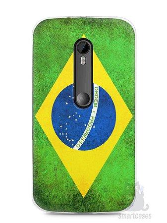 Capa Moto G3 Bandeira do Brasil