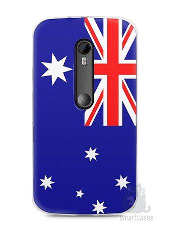 Capa Moto G3 Bandeira da Austrália