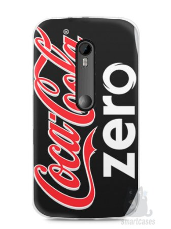 Capa Moto G3 Coca-Cola Zero