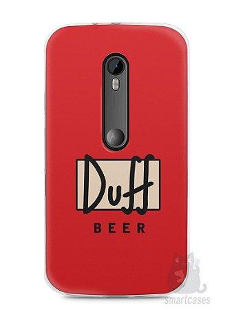Capa Moto G3 Cerveja Duff