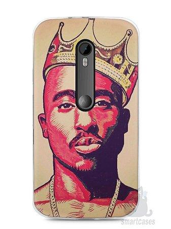 Capa Moto G3 Tupac Shakur #1