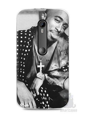 Capa Moto G3 Tupac Shakur #3