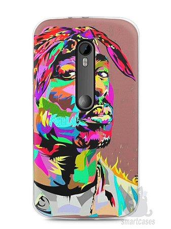 Capa Moto G3 Tupac Shakur #4
